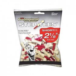 "Тишки для гольфа 2-1/8"" Two Piece Step PTS Red TS21850EU"