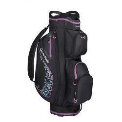 Бэг для гольфа TaylorMade Kalea Cart Black/Violet