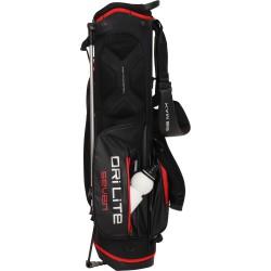 Бэг для гольфа BIG MAX STANDBAG DRI LITE SEVEN, SCHWARZ/ROT
