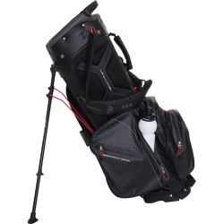 Бэг для гольфа BIG MAX AQUA HYBRID II 14 DIVIDER STANDBAG, SCHWARZ