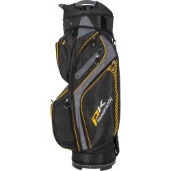 Бэг для гольфа POWAKADDY CARTBAG DLX-LITE, SCHWARZ/GELB