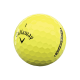 Мячи для гольфа Callaway SuperSoft желтые