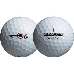 Мячи для гольфа Bridgestone e6 белые