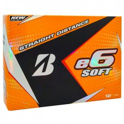 Мячи для гольфа Bridgestone e6 Soft белые