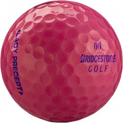 Мячи для гольфа Bridgestone Lady Precept Optic розовые