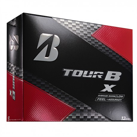 Мячи для гольфа Bridgestone TOUR B X белые