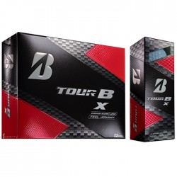 Мячи для гольфа Bridgestone TOUR B X белые