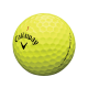 Мячи для гольфа Callaway Chrome Soft X желтые