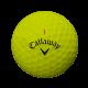 Мячи для гольфа Callaway Chrome Soft желтые