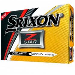 Мячи для гольфа Srixon Z-STAR Spinskin белые