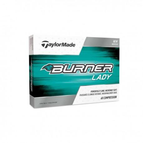 Мячи для гольфа TaylorMade TM17 Burner Lady белые