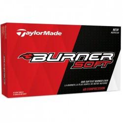 Мячи для гольфа TaylorMade TM17 Burner Soft белые
