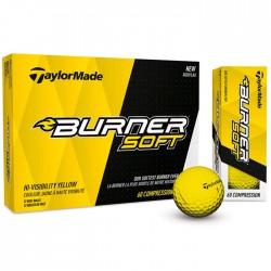 Мячи для гольфа TaylorMade TM17 Burner Soft желтые