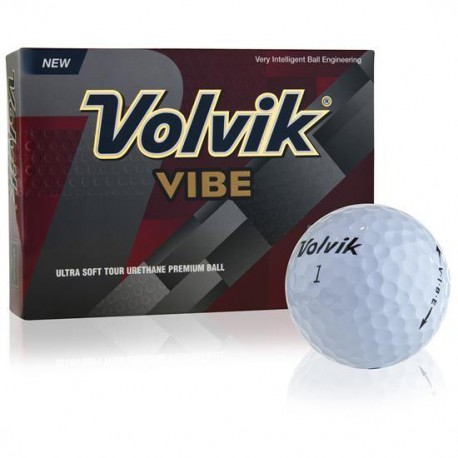 Мячи для гольфа Volvik Vibe белые