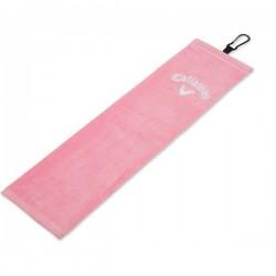 Полотенце Callaway Cotton Tri-Fold Towel Pink