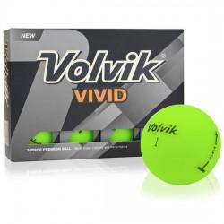 Мячи для гольфа Volvik Vivid зеленые