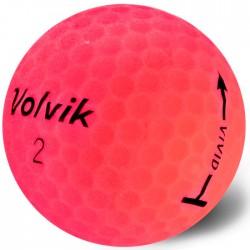 Мячи для гольфа Volvik Vivid розовые
