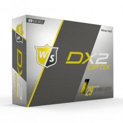 Мячи для гольфа Wilson Staff Dx2 Optix желтые
