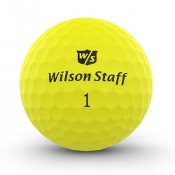 Мячи для гольфа Wilson Staff Dx2 Optix желтые