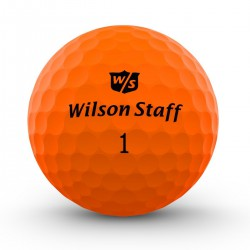 Мячи для гольфа Wilson Staff Dx2 Optix оранжевые
