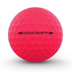 Мячи для гольфа Wilson Staff Dx2 Optix розовые
