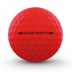 Мячи для гольфа Wilson Staff Dx2 Optix красные