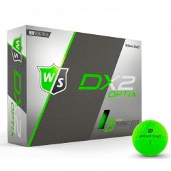 Мячи для гольфа Wilson Staff Dx2 Optix зеленые