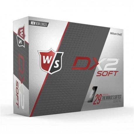 Мячи для гольфа Wilson Staff Dx2 Soft белые