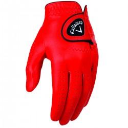 Перчатка для гольфа Callaway Opti Color красная