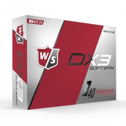 Мячи для гольфа Wilson Staff Dx3 Soft Spin белые