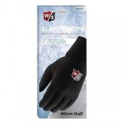 Перчатки для гольфа Wilson Staff Winter черные