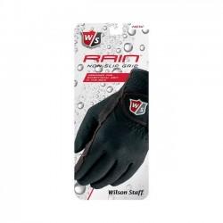 Перчатки для гольфа Wilson Staff Rain черные