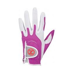 Перчатка для гольфа Zero Friction Compression Fit Ladies Lila белая