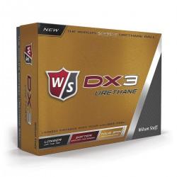 Мячи для гольфа Wilson Staff Dx3 Urethane белые
