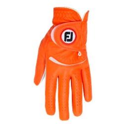 Перчатка для гольфа FootJoy Naisten Spectrum оранжевая