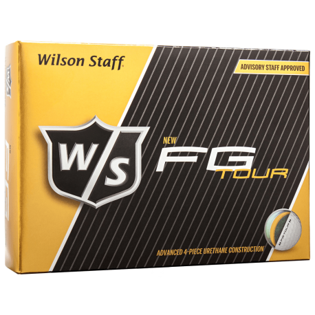 Мячи для гольфа Wilson Staff FG Tour Urethane белые