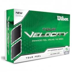 Мячи для гольфа Wilson Tour Velocity Feel белые