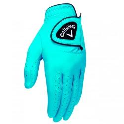 Перчатка для гольфа Callaway Opti Color голубая