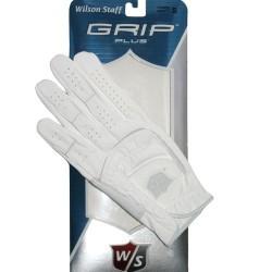 Перчатка для гольфа Wilson Staff Grip Plus белая