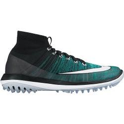 Кроссовки Nike Mens Flyknit Elite - Black / Blue