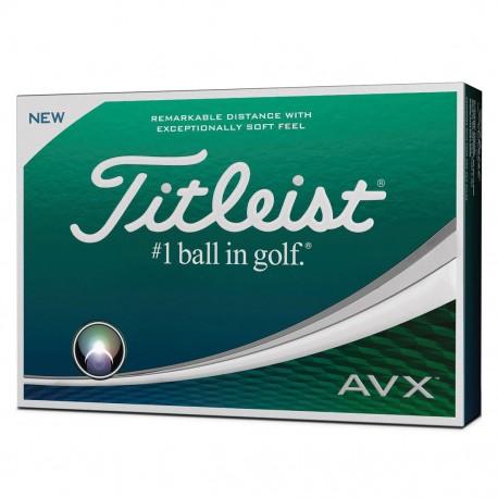 Мячи Titleist AVX белые