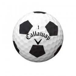 Мячи для гольфа Callaway Chrome Soft TRUVIS черные