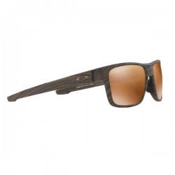 Очки для гольфа Oakley Crossrange Woodgrain / Prizm Tungsten Polar