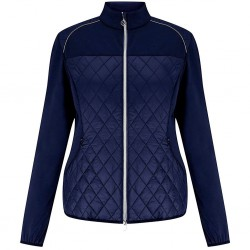 Кофта Callaway Mixed Media Quilted Jacket