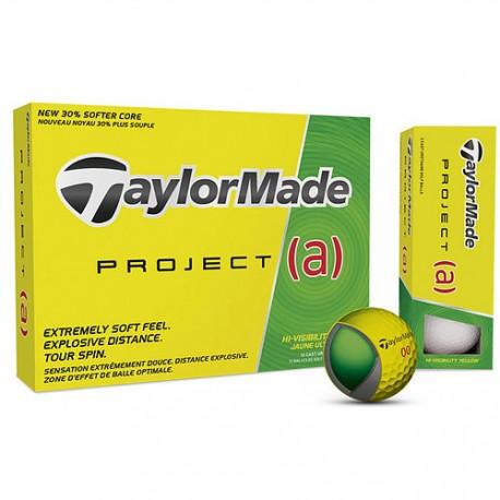 Мячи для гольфа TaylorMade PROJECT (a) желтые