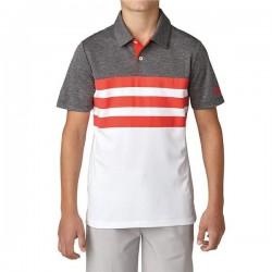 Футболка Adidas Boys 3-Stripes Fashion Polo