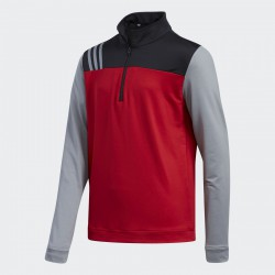 Кофта Adidas Boys Fashion 3-Stripes Half Zip Layer