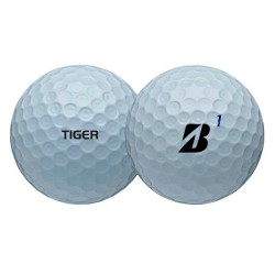 Мячи для гольфа Bridgestone TOUR B XS Tiger Woods белые