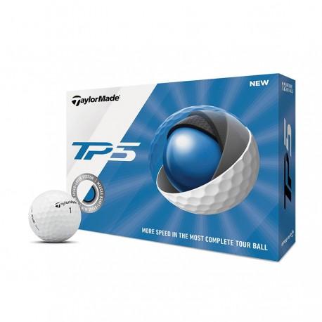 Мячи для гольфа TaylorMade TM19 TP5 белые