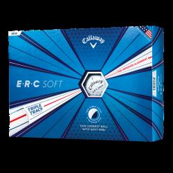Мячи для гольфа Callaway ERC Soft Triple Track белые